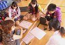 あざみ野第二小学校で行われた避難所体験のお手伝いをしました!