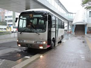 バスツアー最初