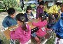 王禅寺ふるさと公園でのPR活動@野生動物救護獣医師協会